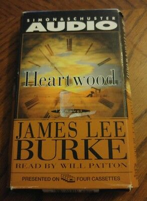 Heartwood by James Lee Burke Cassette Audiobook