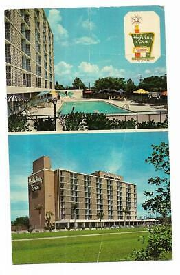 FLORIDA VINTAGE HOLIDAY INN POSTCARD ~  TALLAHASSEE