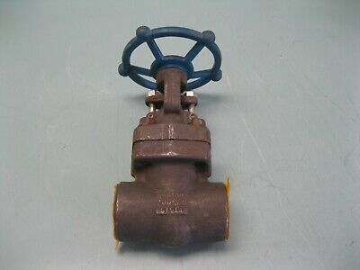 "1-1/2"" Sharpe 800# SW FS 34834 Gate Valve NEW B14 (2457)"