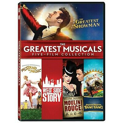 The Greatest Musical Boxset (DVD, 2018, 5-Disc Set)