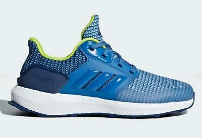 ADIDAS RapidaRun Kids Running Shoes Blue Athletic Sneakers Youth CQ0146 NEW