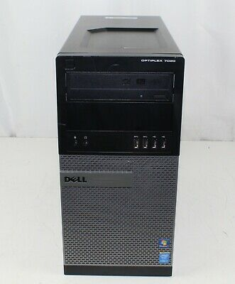 DELL OPTIPLEX 7020 Desktop Intel Core i7-4790 3 60GHz 8GB RAM No Hard Drive
