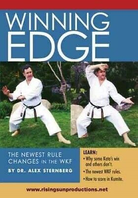 RS-0027  WKF Winning Edge karate kumite kata DVD Sternberg
