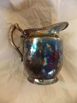 Vintage Silverplate Water Pitcher Poole Silver Co EPCA 1023A