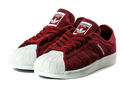best service 81736 dfc56 Adidas Originals Superstar Festival Pack Shoes Trainers Wine Red B36083