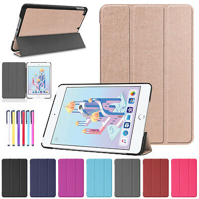 For iPad Mini 5th Gen 2019 Case Smart Magnetic Leather Thin Folding Stand Cover