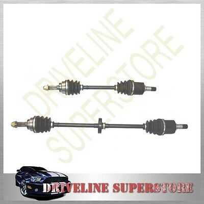 A SET OF TWO CV JOINT DRIVE SHAFT for MAZDA 323 BG 1.6L AUTO & MANU 1994-1998
