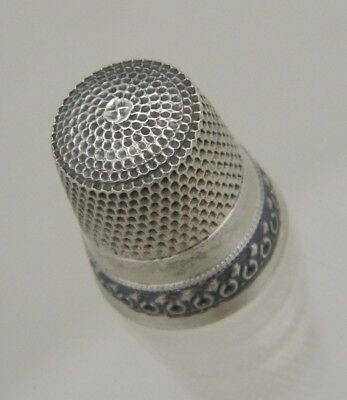 Thimble Simons Brothers Sterling Silver