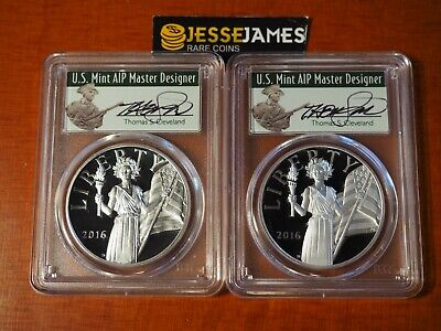 2016 W & S American Liberty Proof Silver Medal Pcgs Pr70 Cleveland First Strike