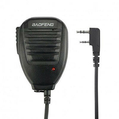 2x Baofeng BF-S112 2Way Radio Speaker Mic Handheld 3.5MM - 2.5MM For UV-5R/888S