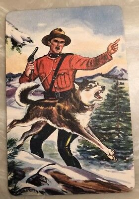 1956 Sgt. Sergeant Preston Of The Yukon And The King #1 Card