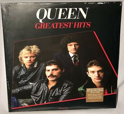 LP QUEEN Greatest Hits w/Bohemian Rhapsody (2LPs Vinyl, 2016) NEW MINT SEALED