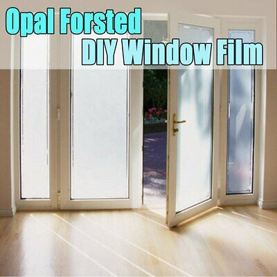 White Frost Privacy Frosted Window Film Matte Opal Etch Tinting Tint Glass Vinyl