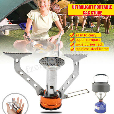 Portable Compact Camping  Fishing Gas Heater Stove Cooker Mini Outdoor 3000W
