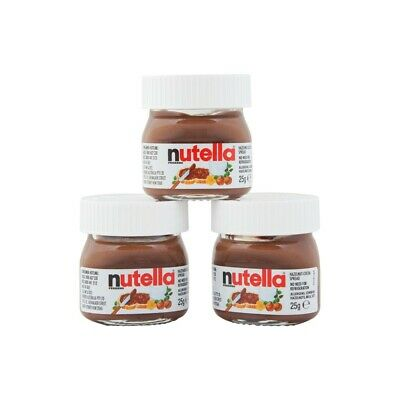 Mini Nutella Jars 25g Bulk Box 64 Jars