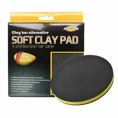 Autocare 6''Clay Bar Pad Fine Grade Clay Pad for Polisher Clay Disc 1pc Cloth