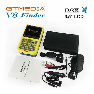 GTMedia V8 Finder Satellite Finder DVB-S2 FTA 1080P HD MPEG-2 MPEG-4 3.5inch LCD