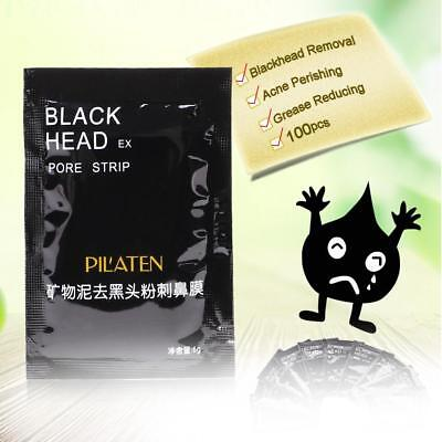 100x Mineral Mud Nose Mask Pore Cleansing Blackhead Removal Peel off Membrane AE