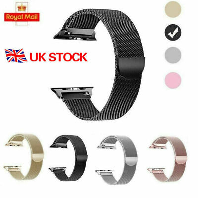 Milanese Magnetic Loop Stainless Steel Strap iWatch Band For Apple Watch 40/44MM