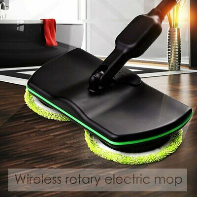 SPIN MAID RECHARGEABLE CORDLESS HANDHELD FLOOR CLEANER SCRUBBER POLISHER MOP  KV