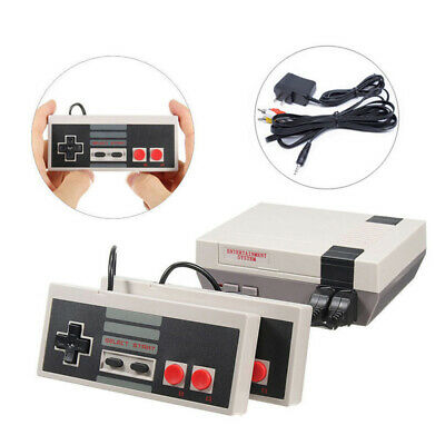 Mini TV Game Console For NES Built-in 620 Games and 2 Gamepads AV Classic Retro