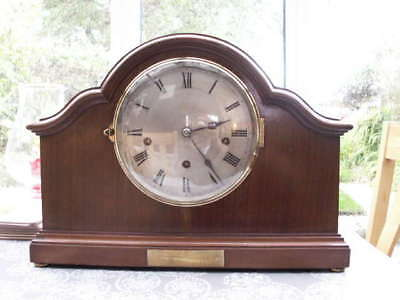 Stunning French Westminster Chime Clock 5 Coiled Gongs