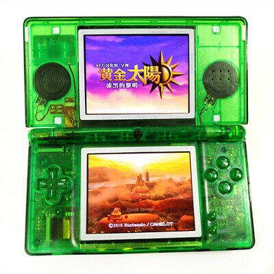 Clear Green Refurbished Nintendo DS Lite Console NDSL Video Game System Console