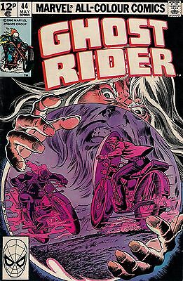 GHOST RIDER #44<>MARVEL COMICS<>1980<>f+(6.5)  ~