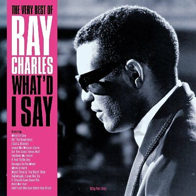 The Very Best of Ray Charles What I'd Say 180g Pink Coloured Vinyl LP Record