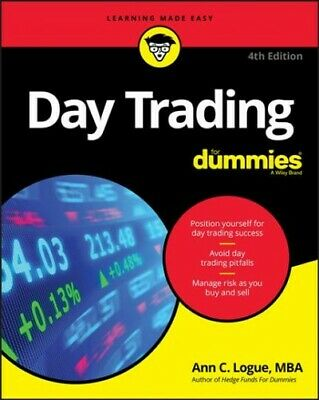 Day Trading for Dummies, Paperback by Logue, Ann C., Like New Used, Free ship...