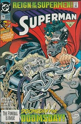 DC Comics Superman 78 N NM-/M 1987