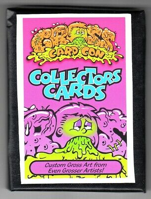 2019 Garbage Pail Kids Gross Card Con Canvas Set 24 Cards Sealed Wax Wrapper Pk