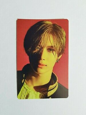 "K-POP SHINEE Taemin Official Limited Photocard / Official 2nd Concert ""WANT"""