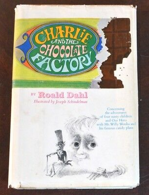 Charlie and the Chocolate Factory HBDJ First edition 1964 Printing by Roald Dahl