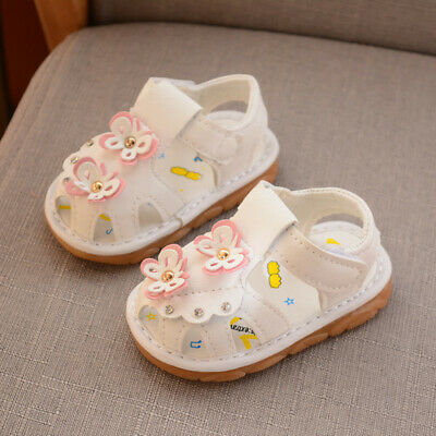 For Summer Baby First Walkers Infant Princesses Sandals Flexible Anti-slip Sole