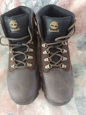 629ab736 NEW Timberland 9810R Rangeley Mid Brown Leather Hiking Mens Size 10 Boots