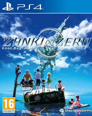 Zanki Zero (PS4)  BRAND NEW AND SEALED - IN STOCK - QUICK DISPATCH