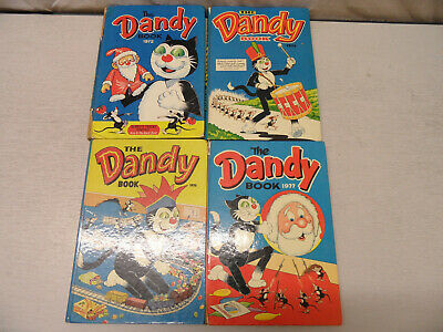 The Dandy Book - Collection of Four From the 70s (1972/ 1974/ 1976/ 1977)