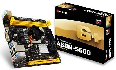 Biostar A68N-5600 ITX Motherboard for AMD Integrated Processor CPUs