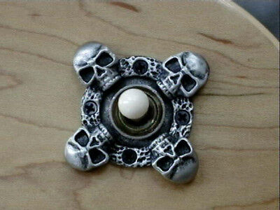 SKULL TOGGLE SWITCH COVER PLATE FITS GIBSON EPIPHONE LES PAUL guitar 3way custom