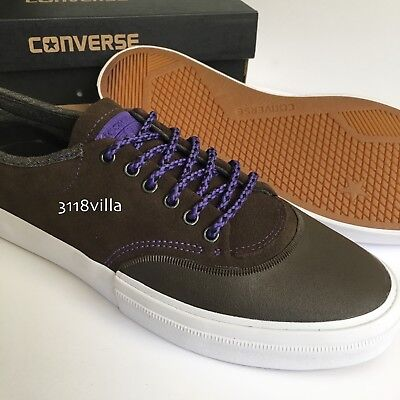 6c749eea3dea Converse CONS Crimson Suede OX Men s Low Top Sneakers size 11 - Hot  Cocoa Grape