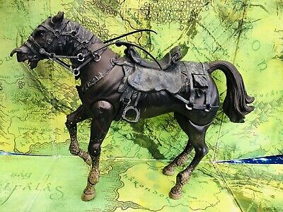 Lord Of The Rings  Action Figure  Ringwraith Horse With Light Up Eyes