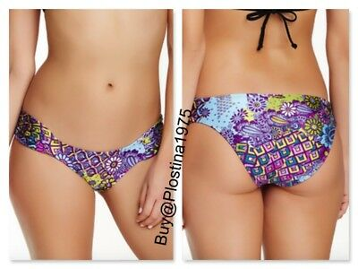 Luli Fama Cosita Buena Wavey Hipster Skimpy Bottom Purple #2081 NEW SZ: M L