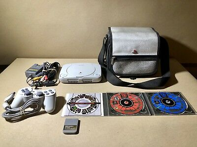 Sony PSOne Launch Edition White Console (SCPH-101) Bundle. (USED)