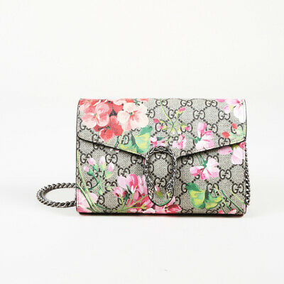 33139a67749 GUCCI GG BLOOMS Coated Canvas