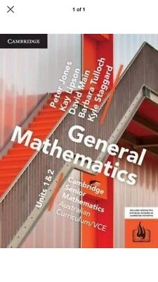 Cambridge General Mathematics VCE Units 1/2 (PDF Version)
