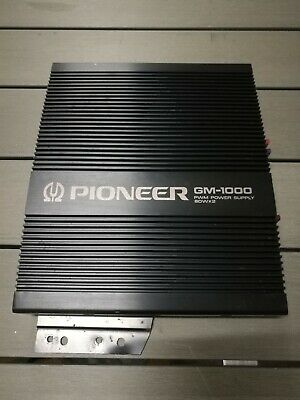 Amplificatore PIONEER GM 1000 - POWER SUPPLY 60W