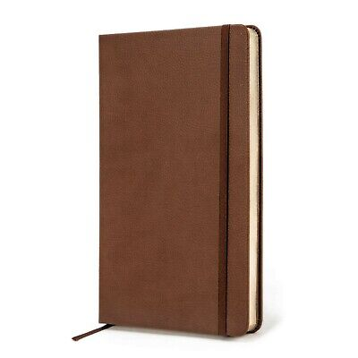 Journal   Notebook - Premium Textured Hardcover - Thick Paper - Brown