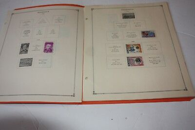 Nicaragua Nice LOT of 90+ Stamps on Scott Album Pages Includes some Airmail