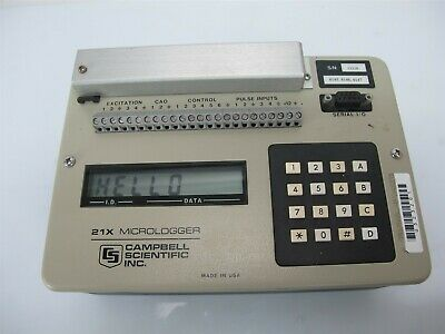 Campbell Scientific 21x Micrologger Data Logger